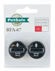 Petsafe RFA-67D-11, 6V Lithium Batterij 2 per verpakking