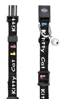 Trixie Kitten halsbandje zwart