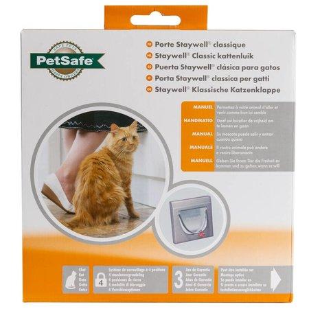 Petsafe Staywell kattenluik classic 915 grijs