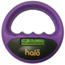 Halo microchip scanner paars