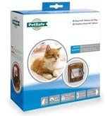 Petsafe Tweedekans - Kattenluik magnetisch deluxe bruin