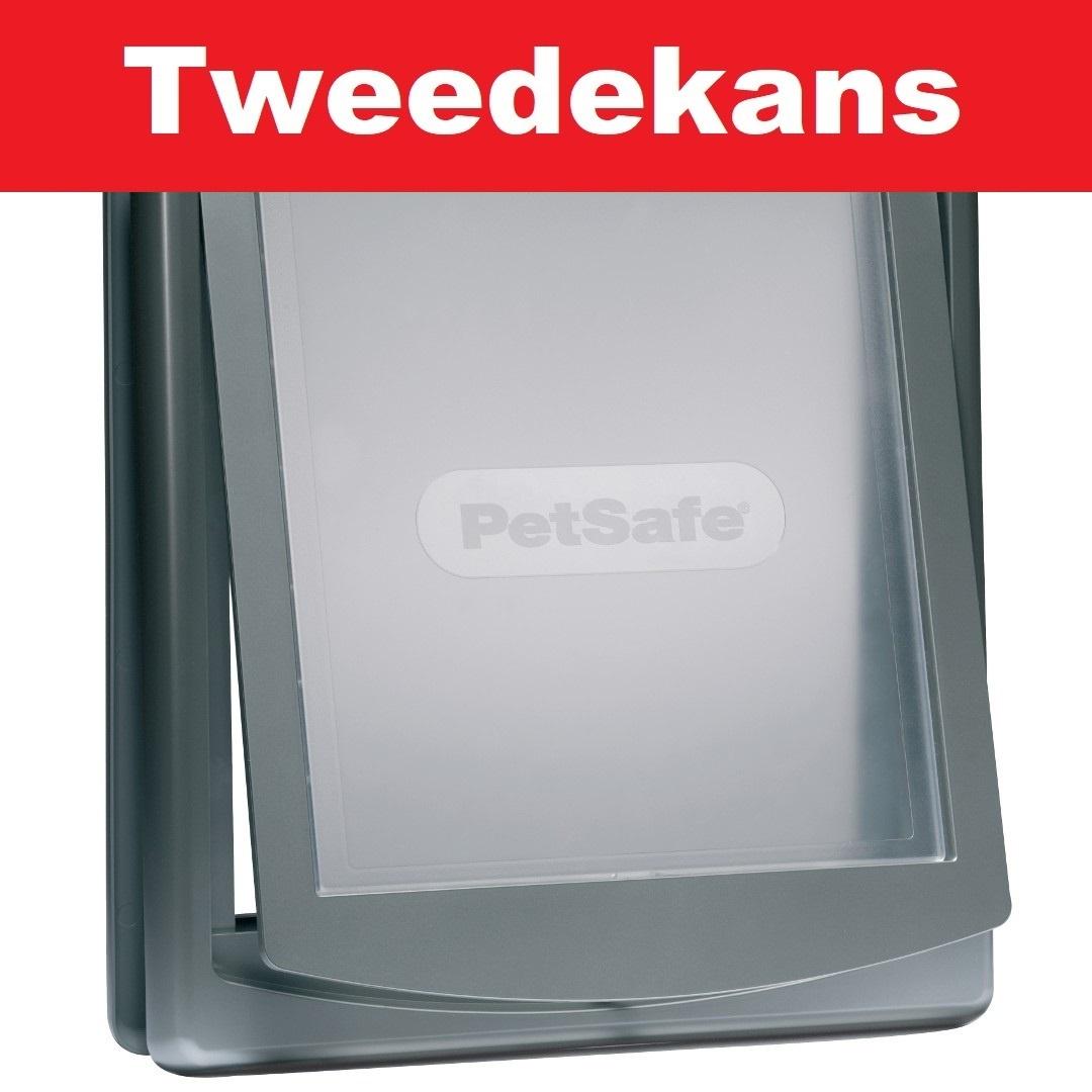 Petsafe Tweedekans - Hondenluik large grijs