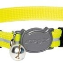 AlleyCat Halsband Small Dayglo yellow
