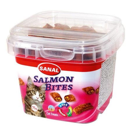 Sanal Salmon Bites in cup