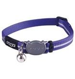 Rogz beltz AlleyCat Halsband Small Purple