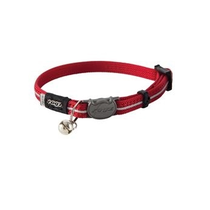 AlleyCat Halsband  XS Red