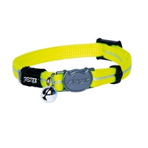 AlleyCat Halsband  XS Dayglo yellow