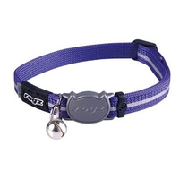 AlleyCat Halsband Small Purple