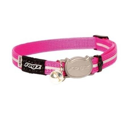 Rogz beltz AlleyCat Halsband Small Pink