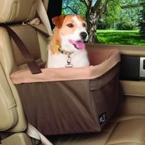 Booster Seat Hondenautostoel   XLarge bruin