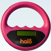 Halo microchip scanner roze