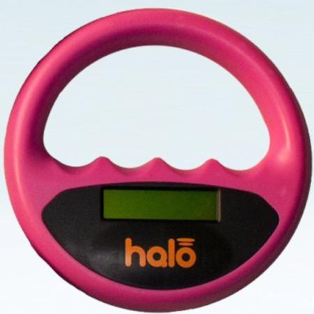 Halo Halo microchip scanner roze