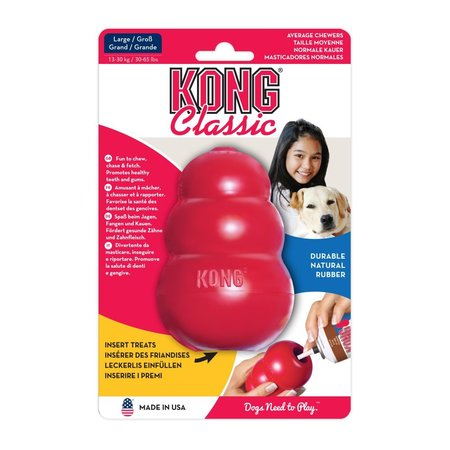 Kong Speeltje classic large rood