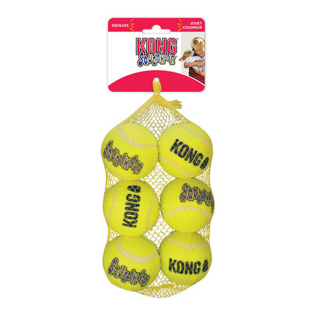 Kong SqueakAir Balls  Medium 6 cm  netje 6 stuks