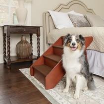 CozyUp Folding Wooden Pet Steps 64 cm