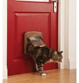 Petsafe Staywell magnetisch Deluxe kattenluik 420 bruin