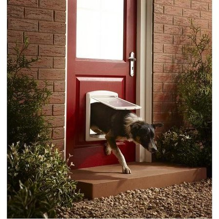 Petsafe 740 Hondenluik Medium wit