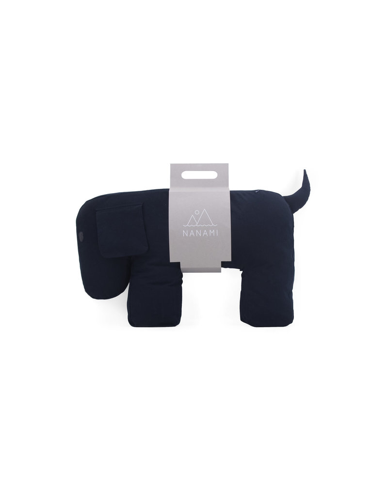 Nanami Voedingskussen Dog Olly Grey