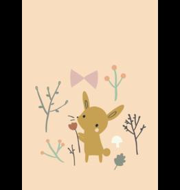 Petit Monkey Postcard Bunny