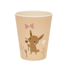 Petit Monkey Bamboo Cup Bunny