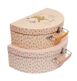 Petit Monkey Suitcase set deer