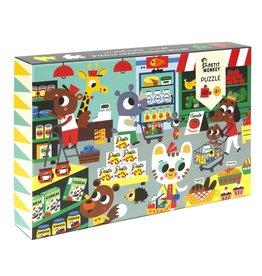 Petit Monkey In the Supermarket Puzzle 48 pcs 4yrs+