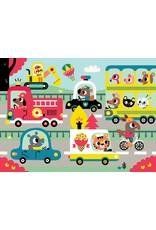Petit Monkey On the road Puzzle 24pcs 3 yrs+