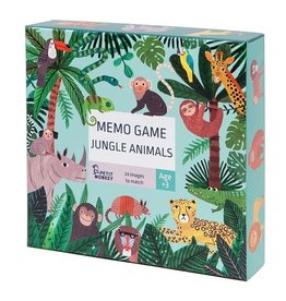 Petit Monkey Memo Game Jungle Animals 3 yrs+