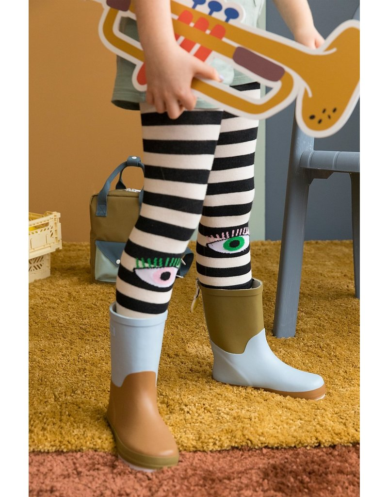Sticky Lemon Rainboots Three Tones Blue