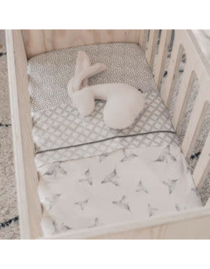 Mies & Co Teddy Crib Blanket Little Dreams