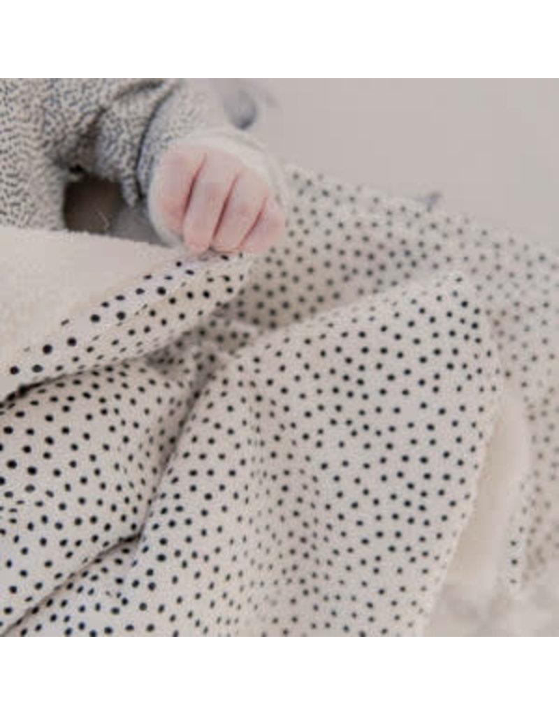 Mies & Co Teddy Ledikantdeken Cozy Dots
