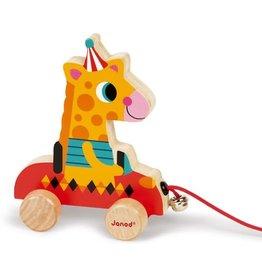 Janod Trekfiguur Giraffe