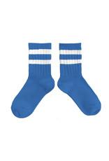 Collégien Sokken Bleu Cobalt Maat 32/35