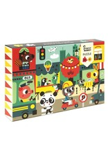 Petit Monkey In the city puzzle 48 pcs / 4 yrs+