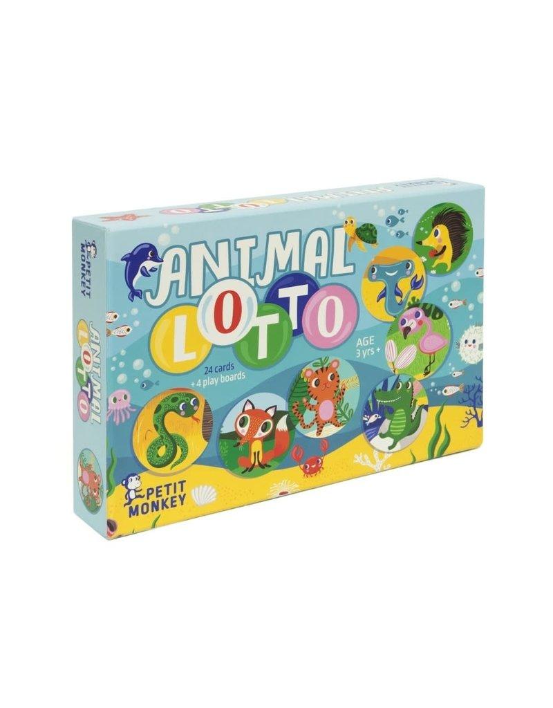 Petit Monkey Animal Lotto 3 yrs+
