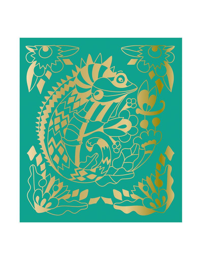 Janod Scratch Art - Dieren van de Wereld