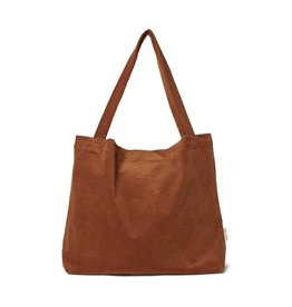 Studio Noos Brown-ie rib mom-bag