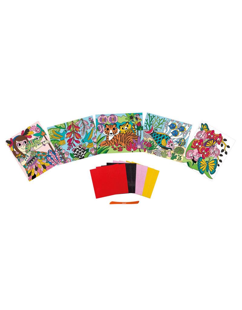 Janod Atelier - Velvet kaarten maken