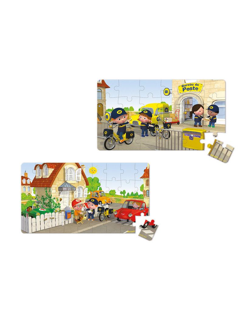 Janod Lovely puzzel - Matteo's fiets  (24 & 36 stukjes)