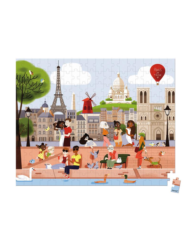 Janod Puzzel - Parijs (200 stukjes)