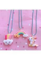 Pop Cutie Necklace Rainbow