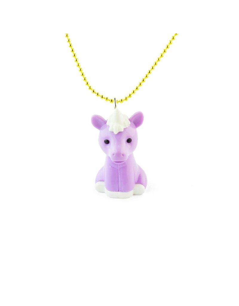 Pop Cutie Necklace Unicorn Purple