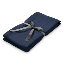CamCam Copenhagen Swaddle navy blue