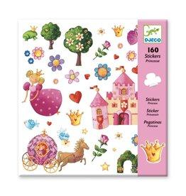 Djeco 160 Stickers Prinsessen