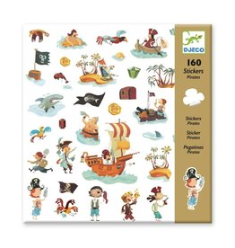 Djeco 160 Stickers Piraten
