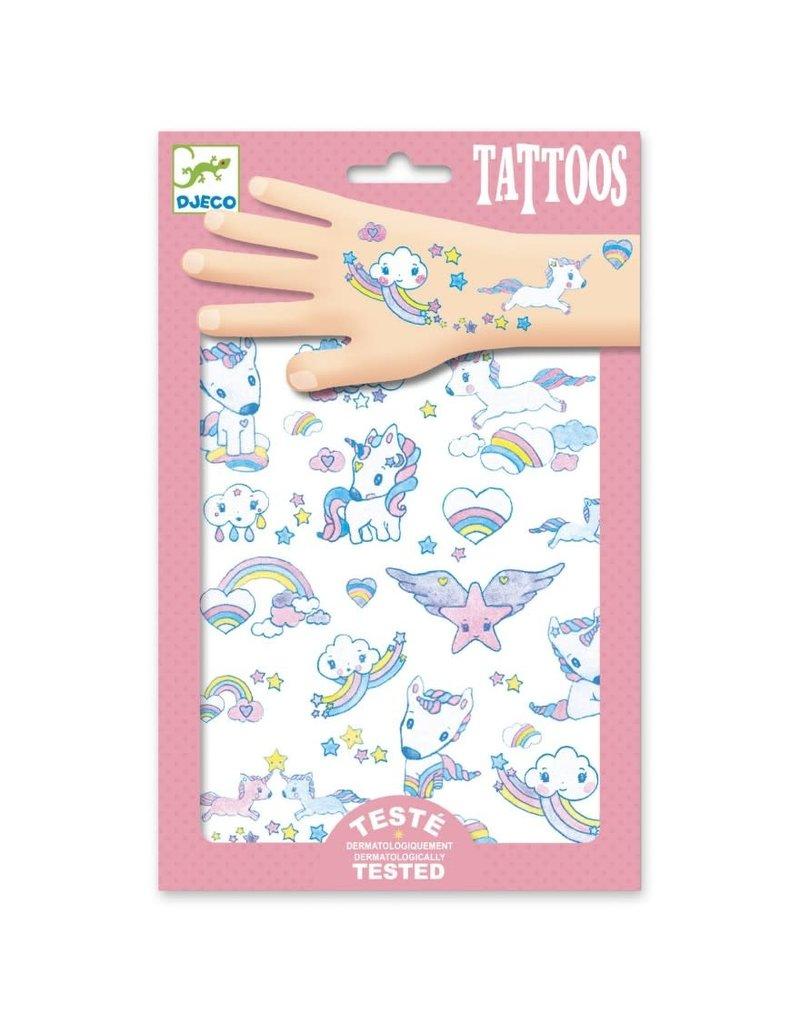 Djeco Tattoos Eenhoorn Glitter