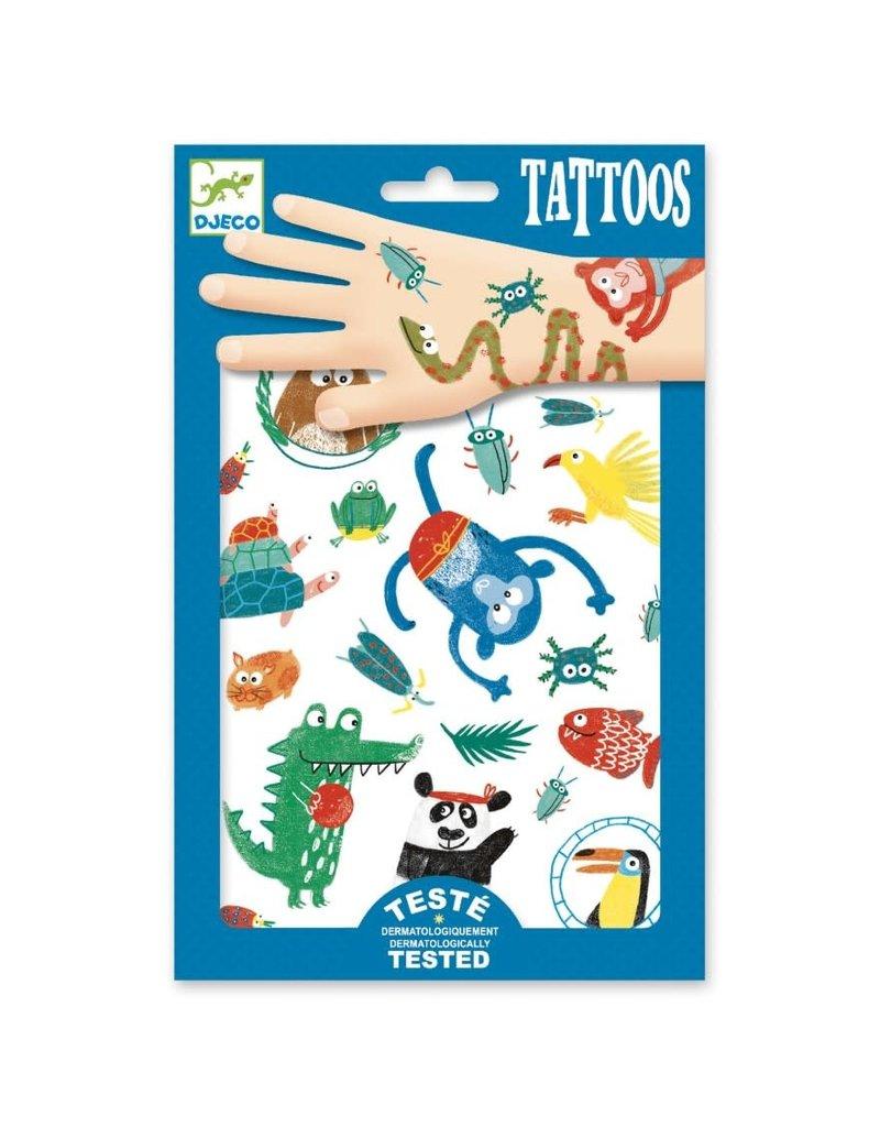 Djeco Tattoos Dieren