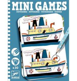 Djeco Mini Games - Zoek de verschillen
