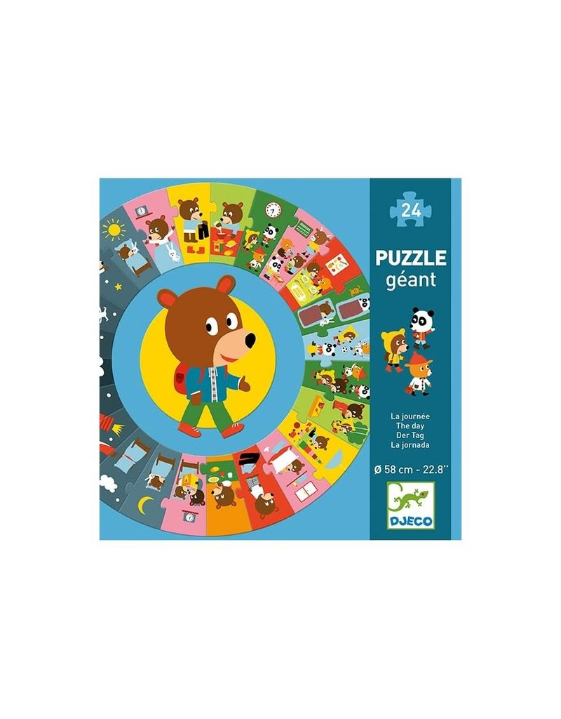 Djeco Puzzel de Dag 24 stukjes