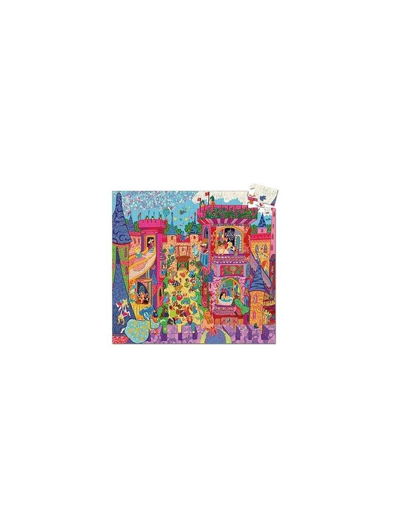 Djeco Puzzel Sprookjeskasteel 54 stukjes
